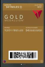 Delta Medallion Gold 3-Month Challege Skyteam Elite Plus Status Feb 2022