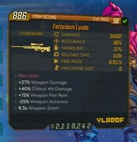 Borderlands 3 Modded Weapons, Kill Anything, / Damage PC / STEAM /