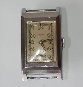 Ankra Armbanduhr Stahl Vintage Sammlerstück