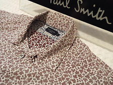 "PAUL SMITH Mens Shirt 🌍 Size S (CHEST 40"") 🌎 RRP £95+ 📮 FLORAL LIBERTY STYLE"