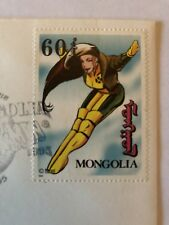 Marvel Rogue X-Men Postage Stamp MONGOLIA First Day Of Issue 1995