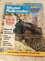 MODEL RAILROADER TRAIN MAGAZINE February 1995