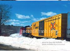 Wolfeboro RR  snowplow 450  Meredith NH 1977