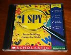 I Spy Brain-building Original Game Kids Pc Computer Scholastic