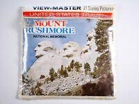 View-Master 3 reel set & booklet Mount Rushmore South Dakota H73  - DT