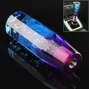 Manual 15CM Universal Crystal Bubble Car Gear Stick Shift Lever Shifter Knob AU