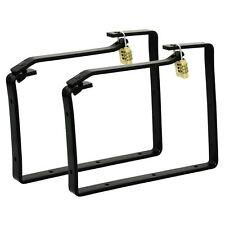 Ladder Storage Hooks Brackets Heavy Duty Lockable 20kg Rolson Quality Tools