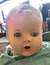 1930's 40's Ideal 24 Inch Baby Doll ,Unmarked, Sleepy Eyes, Brown Eyes, Cuddles?