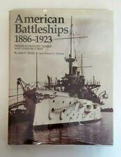 AMERICAN BATTLESHIPS 1886-1923 Predreadnought Design Reference Book HC Reilly