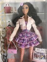 Stardoll Barbie 2011 Mattel Pretty African-American Rare NRFB Rooted Lashes
