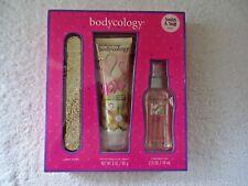 "Bodycology "" NIB "" 3 Piece Set,Nail File,Body Cream,Fragrance Mist "" GREAT ITEM"