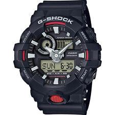 Orologio Casio da polso uomo G Shock GA-700-1AER cronografo garanzia nero nuovo