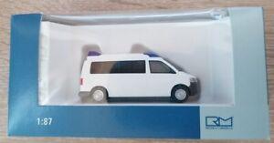 Rietze 52691 - 1/87 Ambulance Mobile Hornis M '10 Blanc - Neuf