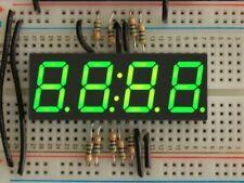 """Adafruit Verde 7 segmentos pantalla del reloj-altura de 0.56"""" dígitos [ADA813]"""