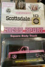M2 MACHINES 1979 Chevy Scottsdale Sport Truck HOBBY EX. (PINK/BLACK) **CHASE **