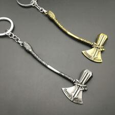 World of War Thor Hammer Keychain Crafts Keyring Doom Hammer Thrall Weapon Key