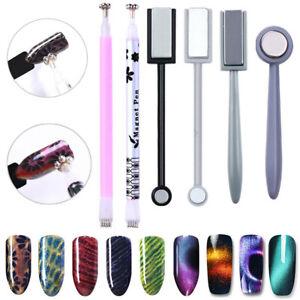 Magnet Magic Pen For Cat Eye Nail Design Pen For Gel Polish UV LED 3D Nail Art