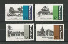 NEW ZEALAND 1979 ARCHITECTURE 1ST SERIES SG,1188-1191 U/MM NH LOT 1885A
