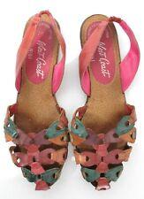 New listing Vinatge West Coast 90s Woven Huarache Flat Multi-Colored Sandal Shoes Brazil 7 M