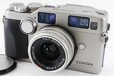 [Excellent] Contax G2 35mm Rangefinder Film Camera With 28mm F2.8 Lens (A334)