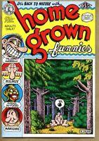 Home Grown Funnies #1-1997 vf 8.0 (17th) Underground R Crumb Robert Crumb