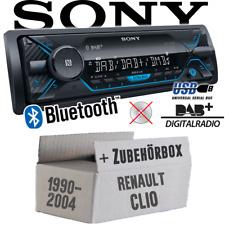 Sony Autoradio für Renault Clio 1 +2 DAB+/Bluetooth/MP3/USB Auto KFZ Einbauset