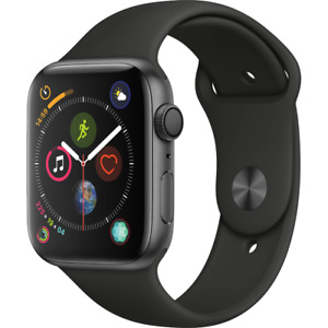 Apple Watch Series 4 40mm GPS Space Gray Black Sport Band - EXCESSIVE SCRATCHING