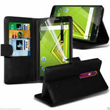 Leather Wallet Flip Book Phone Case Cover Stand Card Holder✔Samsung Apple Huawei