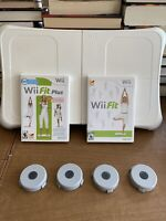 Wii Fit & Wii Fit Plus with Balance Board (Nintendo Wii) Bundle Tested Working