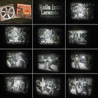 Super-N 8mm Film-Seltener Western Castle Film No.597-Rails into Laramie- J.Payne