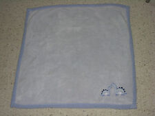 Babygear Baby Gear Blue Boy Dino Dinosaur Brontosaurus Plush Fleece Blanket