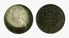 pcc2135_30) INDIA   Queen Victoria - One 1 RUPEE  1882