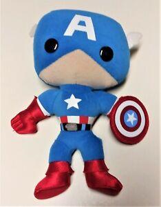"""Marvel Comics Captain America Plush 8"""" Plush Funko"""