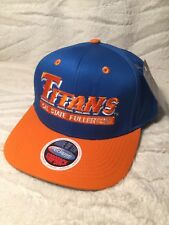 ECLIPSE NCAA CAL STATE FULLERTON TITANS SNAP BACK HAT