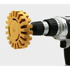 4inch Eraser Wheel Adhesive Cleaning Pinstripe Appliqu Remover Car Decals Arbor