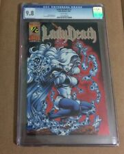 LADY DEATH #1/2 WIZARD EDITION CGC9.8
