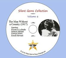 """DVD """"The Man Without a Country"""" (1917) Florence La Badie, Classic Silent Drama"""