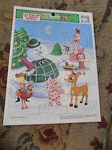 Vtg HTF Frame Tray Puzzle The Island of Misfit Toys Golden Books Rudolph 1998