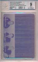 2015-16 ITG Stickwork Printing Plate 1/1 Norm Ullman Richard Gordie Howe BGS 9