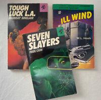 Tough Luck LA (Sinclair)/ Ill Wind (Heath) / Seven Slayers (Cain)~ Black Lizard