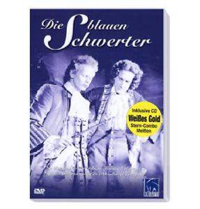 DVD FILM + CD ** DIE BLAUEN SCHWERTER ** MEIßENER PORZELLAN BÖTTGER WEIßES GOLD
