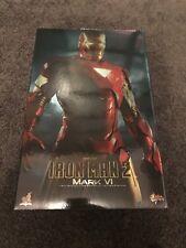 1/6 Scale Hot Toys MMS132 Iron Man 2 Mark VI BIB Marvel Avengers NOT Diecast
