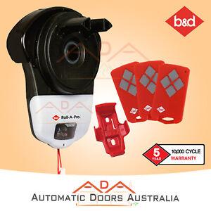 B&D Roll-A-Pro SDO-1v3 Garage Roller Door opener