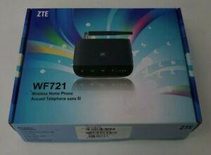 AT&T ZTE WF721 (UNLOCKED) Wireless Home Phone Base Open Box