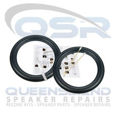 "6.5"" Rubber Surround Repair Kit to suit Bazooka Speakers (RS 147-110)"