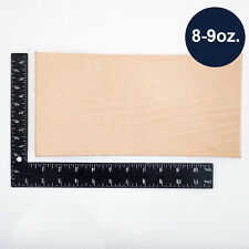 Natural Veg Tan Tooling Cowhide Leather Pre-Cut Piece 6
