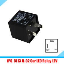 1x 150W Car CF13 JL-02 3 PIN LED Flasher Relay Turn Signal Light Flash Fix Black
