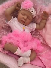 "REBORN DOLLS CHEAP BABY GIRL REALISTIC BIRTHDAY PRINCESS 22"" NEWBORN LIFELIKE"