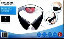 Silvercrest Shiatsu Neck Massager For A Deep Neck Massage.. 12w