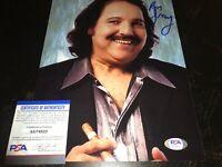 Ron Jeremy Signed 8x10 Photo PSA/DNA COA Adult Porn Star Authentic Autograph